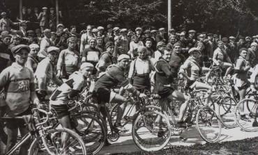 Il velocipede arriva a Crespi d'Adda