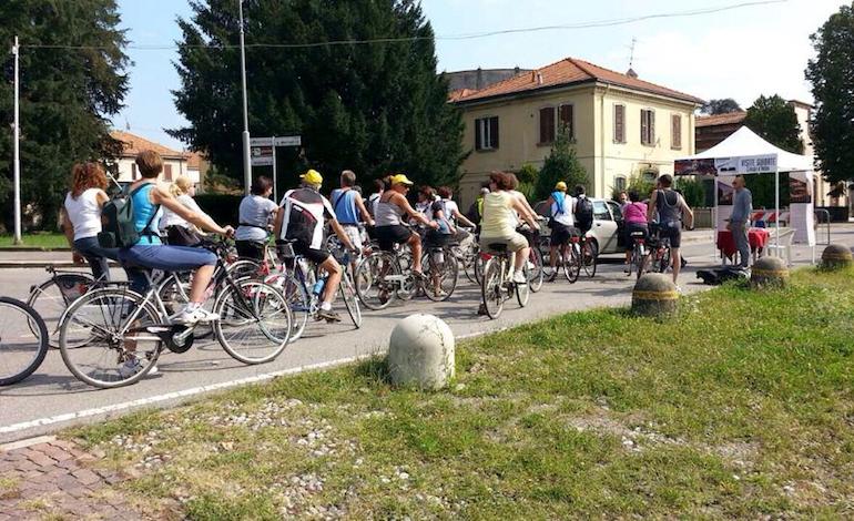 Tour in bicicletta a Crespi d'Adda