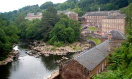 Il fiume Clyde: silenzioso testimone della meravigliosa evoluzione del villaggio industriale di New Lanark