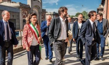 Il Ministro Franceschini in visita a Crespi d'Adda