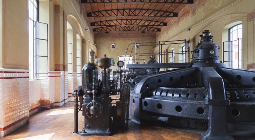 25 aprile 2019: visita alla Centrale Idroelettrica di Crespi d'Adda