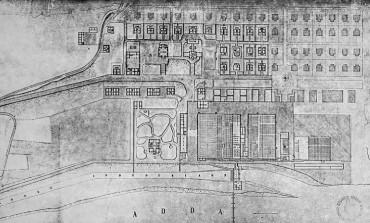 Il bronzo e il mattone, a Crespi d'Adda l'antico Fosso Bergamasco