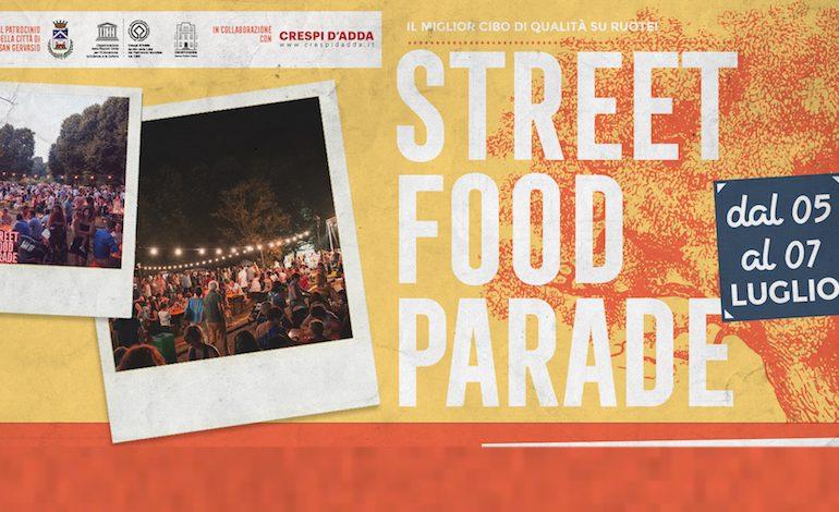 Street Food Parade a Crespi d'Adda, 5-6-7 luglio 2019