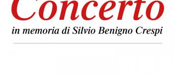 Concerto in memoria di Silvio Crespi, 8 dicembre