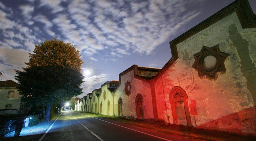 Visita notturna al villaggio Crespi, sabato 24 luglio