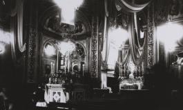 """Pala d'altare nella chiesa di Crespi d'Adda: """"Mater Divinae Providentiae"""" di Ercole Ruspoli"""