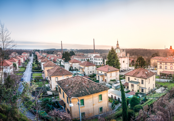 8 dicembre 2019: visita al villaggio Crespi d'Adda